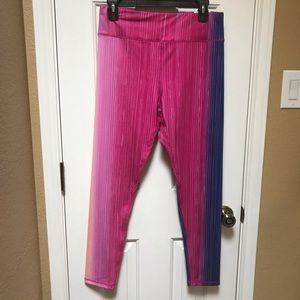 Xersion Ombré Mid-Rise Skinny Leggings Large NWT